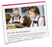 Griaß di Allgäu Sommer-Ausgabe 2017 - Der Herr der Instrumente